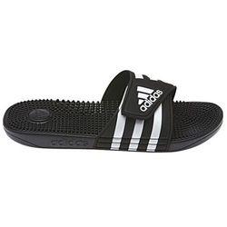 adidas Adissage Sandały Mężczyźni, core black/ftwr white/core black UK 10 | EU 44 2/3 2019 Klapki i sandały kąpielowe