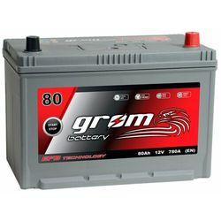Akumulator GROM EFB START&STOP 80Ah 780A JAPAN Prawy Plus DTR