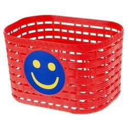 Koszyk dziecięcy przedni plastikowy, Żółty