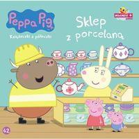 Książki dla dzieci, Sklep z porcelaną. Świnka Peppa tom 42 - Opracowanie zbiorowe (opr. miękka)