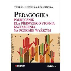 Pedagogika Podręcznik dla pierwszego stopnia kształcenia na poziomie wyższym (opr. broszurowa)