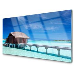 Panel Kuchenny Morze Plaża Dom Architektura