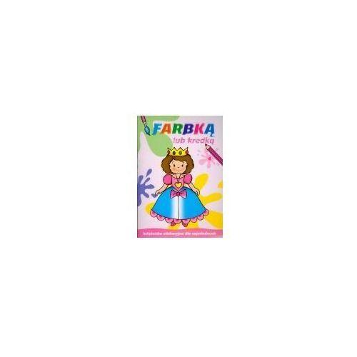 Książki dla dzieci, Książeczka malowanka a4 farbką lub kredką 4 skrzat 374262 (opr. miękka)