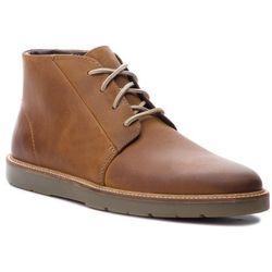 Trzewiki CLARKS - Grandin Mid 261364497 Dark Tan Leather