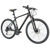 Pozostałe rowery, Rower INDIANA X-Cross 5.0 M19 Czarno-brązowy | 5 LAT GWARANCJI NA RAMĘ DARMOWY TRANSPORT