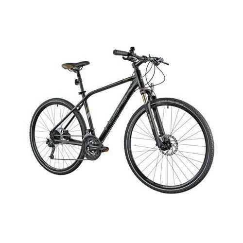 Pozostałe rowery, Rower INDIANA X-Cross 5.0 M19 Czarno-brązowy   5 LAT GWARANCJI NA RAMĘ DARMOWY TRANSPORT
