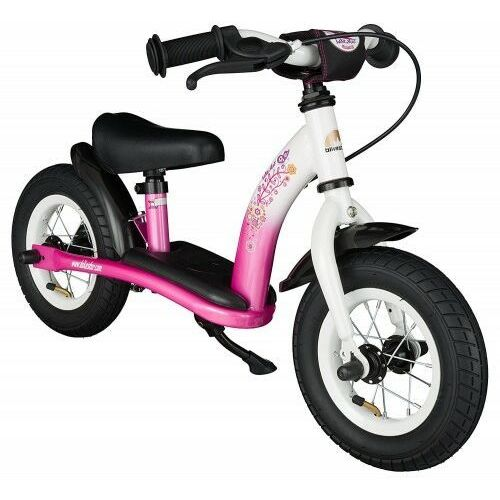 """Rowerki biegowe, Rowerek biegowy 10"""" NISKI od 2 lat BIKESTAR GERMANY classic pink flamingo"""