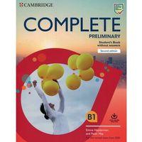 Książki do nauki języka, Complete Preliminary Student's Book without Answers with Online Practice (opr. miękka)
