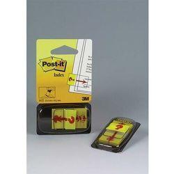 """Zakładki indeksujące POST-IT z nadrukiem """"znak zapytania 680-32R 25x43mm 50 kart."""