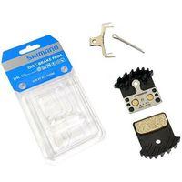 Klocki hamulcowe do rowerów, Okładziny/klocki hamulcowe Shimano J04C metaliczne z radiatorem XTR / XT/ SLX / Alfine - bez opakowania