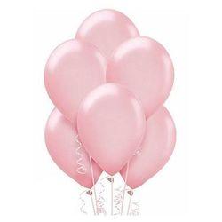Balony lateksowe metaliczne duże - 12 cali - różowe - 25 szt.
