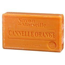 Mydło marsylskie pomarańcza-cynamon z olejkiem ze słodkich migdałów 100g