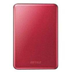 Dysk zewnętrzny Buffalo MiniStation Slim 1TB Czerwony (HD-PUS1.0U3R-WR)