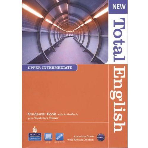 Książki do nauki języka, New Total English Upper-Intermediate Student's Book With Cd (opr. miękka)