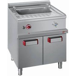 Urządzenie do gotowania makaronu 40L z szafką | gazowe | 13,3kW | 700x700x(H)850/920mm