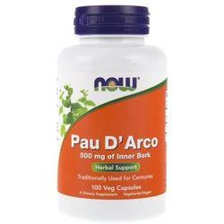 Now Foods Pau D' Arco 500 mg 250 kapsułek