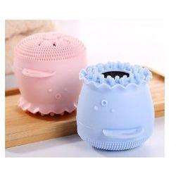 Silikonowa myjka do twarzy - ośmiorniczka różowa