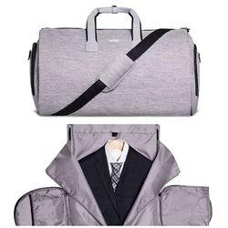 Torba Podróżna dla mężczyzn z etui na garnitur Packshi