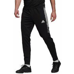 Spodnie męskie adidas Condivo 21 Training Pant Slim Primeblue czarne GE5423