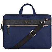Pokrowce, torby, plecaki do notebooków, Cartinoe torba na laptopa London Style Series 13,3 cala niebieska