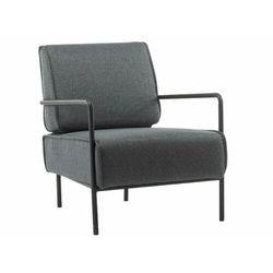 Fotel KIDDO z tkaniny – kolor antracytowy
