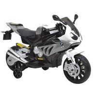 Motory dla dzieci, HECHT BMW S1000RR-GREY MOTOR SKUTER ELEKTRYCZNY AKUMULATOROWY MOTOCYKL MOTOREK ZABAWKA AUTO DLA DZIECI - EWIMAX OFICJALNY DYSTRYBUTOR - AUTORYZOWANY DEALER HECHT promocja (-29%)