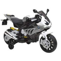 HECHT BMW S1000RR-GREY MOTOR SKUTER ELEKTRYCZNY AKUMULATOROWY MOTOCYKL MOTOREK ZABAWKA AUTO DLA DZIECI - EWIMAX OFICJALNY DYSTRYBUTOR - AUTORYZOWANY DEALER HECHT promocja (-41%)