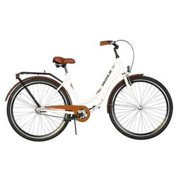 Rower DAWSTAR Moly Biały + Rabat na akcesoria rowerowe! + 5 lat gwarancji na ramę! + DARMOWY TRANSPORT!