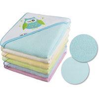 Okrycia kąpielowe, Okrycie kąpielowe 100x100 ręcznik z kapturkiem - kolory