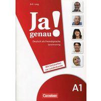 Książki do nauki języka, Ja Genau! A1 Band 1&2. Sprachtraining (opr. miękka)