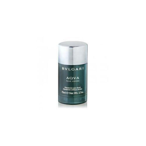 Dezodoranty męskie, Bvlgari Aqva Pour Homme, dezodorant w sztyfcie, 75ml (M)
