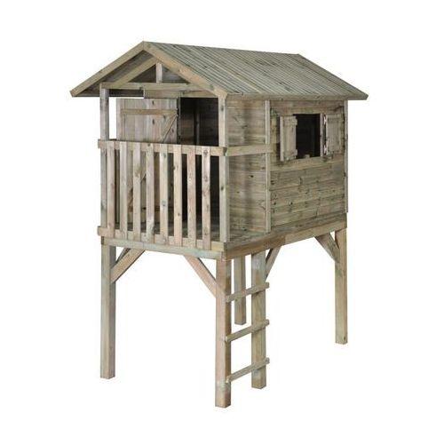 Domki i namioty dla dzieci, Domek dla dzieci JAKOB 150 x 242,5 x 280 cm SOBEX