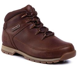 Trapery TIMBERLAND - Euro Sprint Mid Hiker TB0A24AM140 Md Brown Full Grain