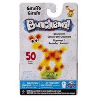 Kreatywne dla dzieci, Kolorowe rzepy Bunchems - kumple Żyrafa 50 el. 0778988617243