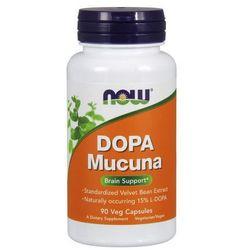 Now Foods DOPA Mucuna (15% L-DOPA) 90 kaps.
