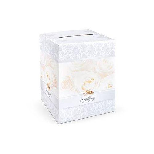 Pozostałe na ślub i wesele, Pudełko na koperty z życzeniami, prezentami - 1 szt.