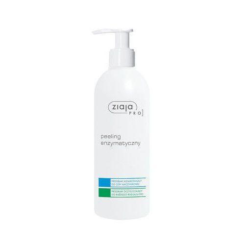 Peeling do twarzy, Ziaja Pro, peeling enzymatyczny, program wzmacniający do cery naczyniowej, 270ml