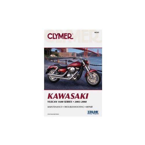 Biblioteka motoryzacji, Clymer Manuals Kawasaki Vulcan 1600 Series 2003-2008 M245