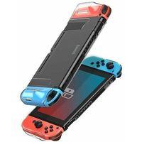 Etui i futerały do telefonów, Baseus SW etui na Nintendo Switch z wycięciami na pady przezroczysty (WISWGS07-02) - Przezroczysty