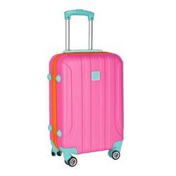 Mała walizka PASO różowa 4Y38DM Oferta ważna tylko do 2023-03-04