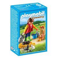 Klocki dla dzieci, Playmobil COUNTRY Rodzina kotków 6139