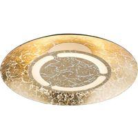 Lampy sufitowe, Plafon Globo Tabea 41900-6 lampa sufitowa 1x6W LED złoty