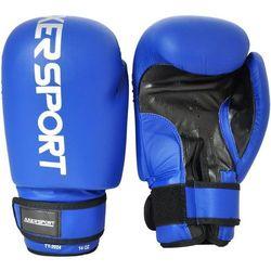 Rękawice bokserskie AXER SPORT A1322 Niebieski (10 oz) + Zamów z DOSTAWĄ JUTRO!