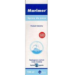 Marimer Izotoniczny Spray oczyszczająca woda morska do nosa 100 ml