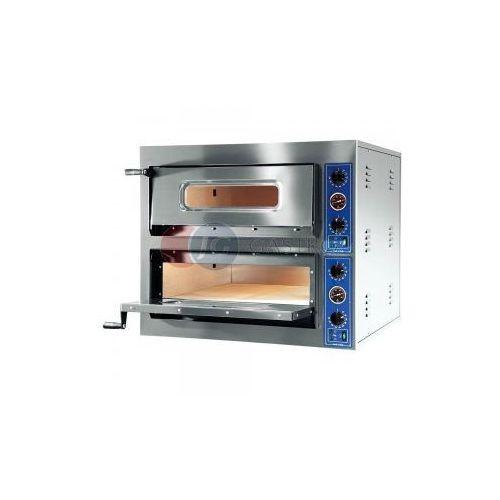 Piece i płyty grzejne gastronomiczne, Piec do pizzy 2-komorowy 2x4x30cm X-line GGF 781402