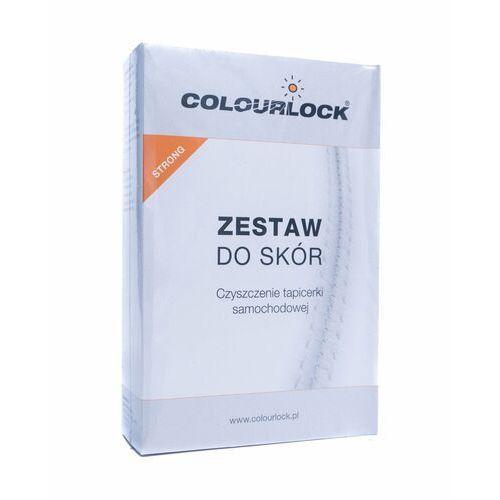 Środki do czyszczenia tapicerki samochodowe, Colourlock Strong zestaw do skór nowych