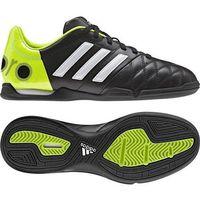 Piłka nożna, Buty halowe Adidas 11 Nova IN F33090 Jr