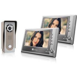 Wideodomofon F-S7V11 z dwoma monitorami