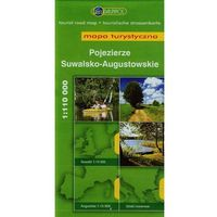 Mapy i atlasy turystyczne, Pojezierze Suwalsko- Augustowskie. Mapa turystyczna w skali 1:110 000 (opr. miękka)