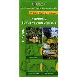 Pojezierze Suwalsko- Augustowskie. Mapa turystyczna w skali 1:110 000 (opr. miękka)